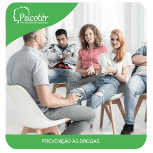 Imagem do serviço de prevenção às drogas - Psicotér