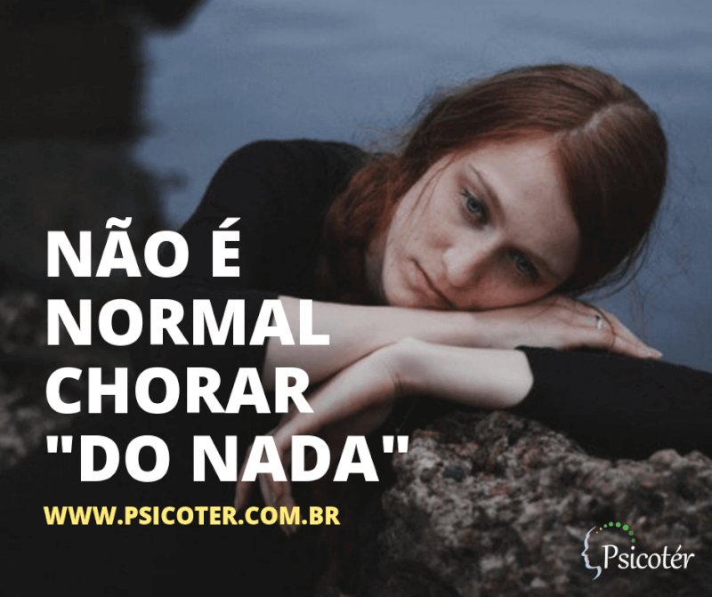 """Imagem - Chorar """"do nada"""""""