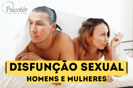 disfunção sexual