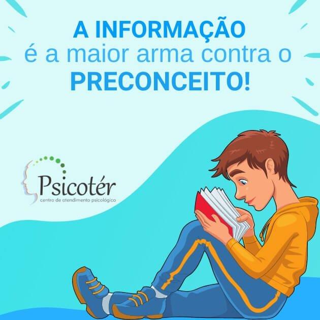 Psicofobia: a informação é a maior arma contra o preconceito.