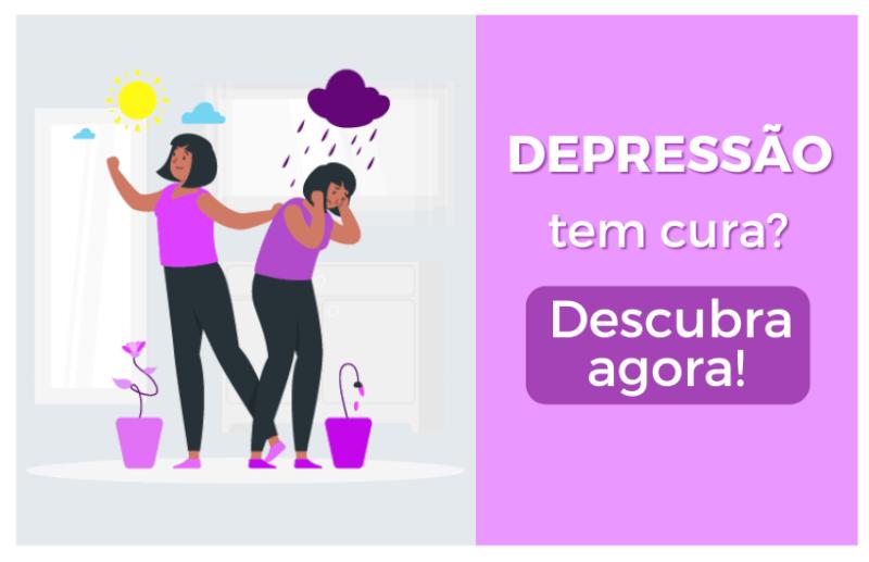 descubra agora se a depressão tem cura