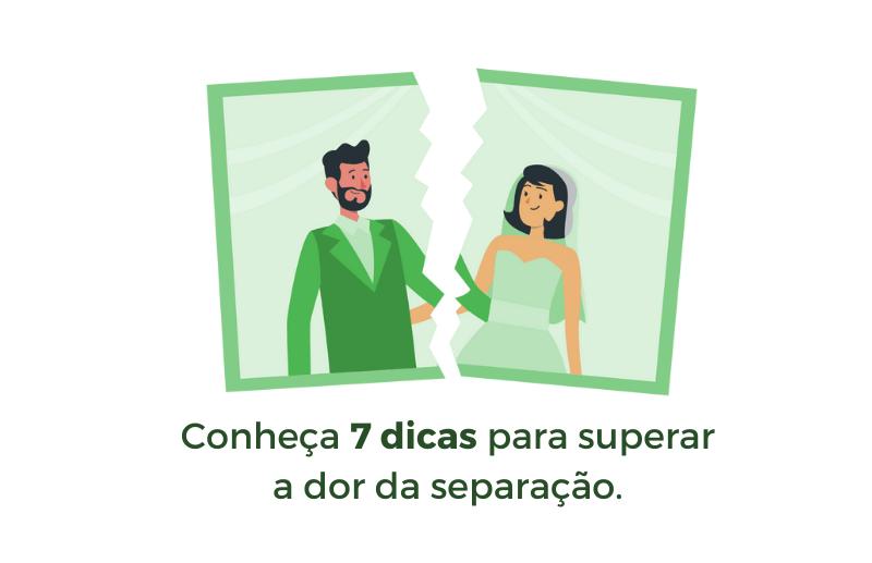 dicas para superar uma separação do divórcio