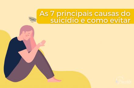 Causas do suicidio